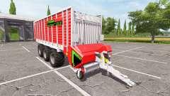 Strautmann Tera-Vitesse CFS 5201 DO для Farming Simulator 2017