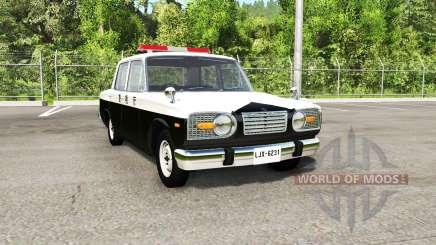 Ibishu Miramar Japanese Police для BeamNG Drive
