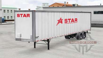 Скин Star Transport Inc. на полуприцеп для American Truck Simulator