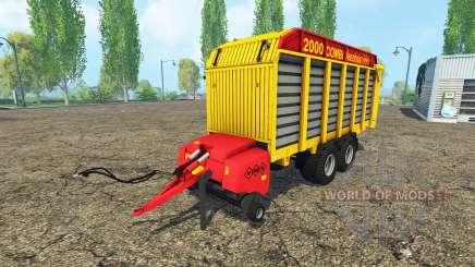 Veenhuis Combi 2000 для Farming Simulator 2015