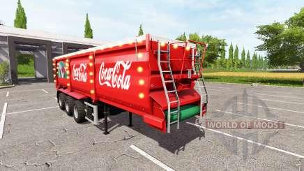 Krampe SB 30-60 Christmas Coca-Cola v1.2 для Farming Simulator 2017