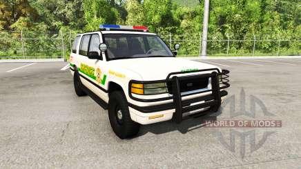 Gavril Roamer county sheriff для BeamNG Drive