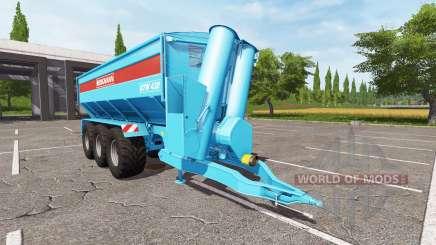 BERGMANN GTW 430 multicolor для Farming Simulator 2017