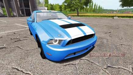 Ford Mustang Shelby GT v1.1 для Farming Simulator 2017