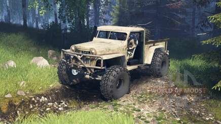 Willys Pickup Crawler 1960 v2.1.4 для Spin Tires