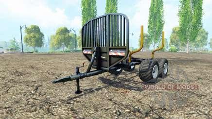 Лесовозный прицеп v0.9.1 для Farming Simulator 2015