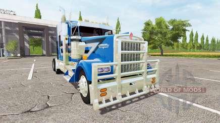 Kenworth W900L для Farming Simulator 2017