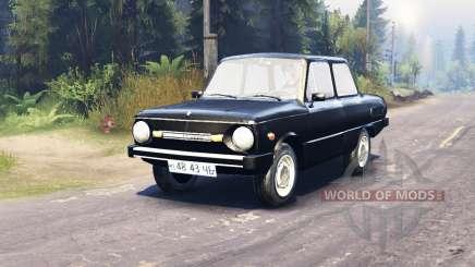 ЗАЗ 968М для Spin Tires