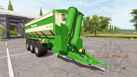 Krone TX 430 v1.0.1 для Farming Simulator 2017