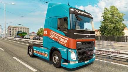 Скины для грузового трафика v2.1 для Euro Truck Simulator 2