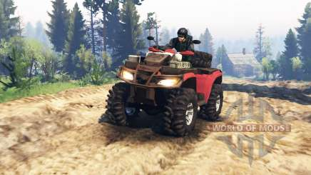 Polaris Sportsman 4x4 v2.0 для Spin Tires