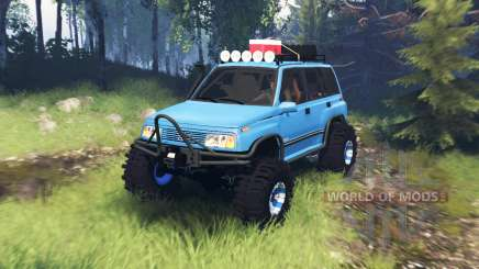 Suzuki Grand Vitara v5.0 для Spin Tires