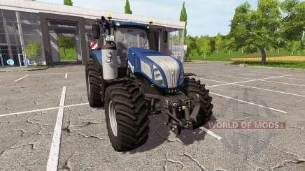 New Holland T8.420 v1.1 для Farming Simulator 2017