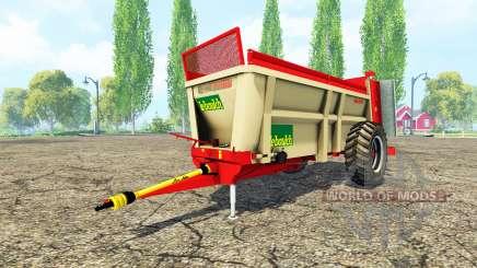 LeBoulch Maxi HVS 417 для Farming Simulator 2015