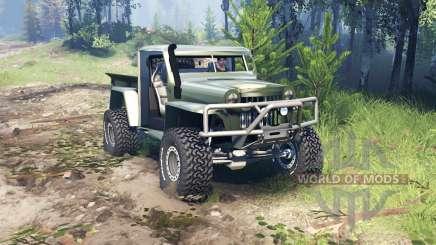 Willys Pickup Crawler 1960 v1.8.5 для Spin Tires