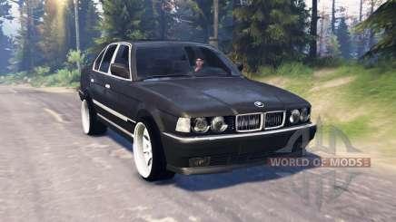 BMW 750Li (E38) v5.0 для Spin Tires