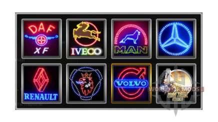Логотипы компаний v1.2 для Euro Truck Simulator 2