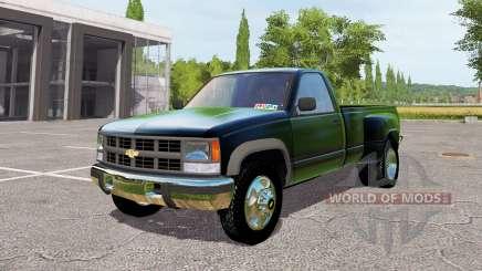 Chevrolet K3500 1994 для Farming Simulator 2017