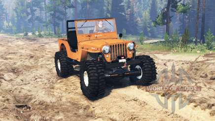 Jeep Willys M38 CJ2A crawler для Spin Tires