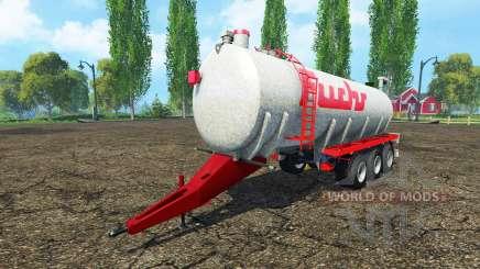 Fuchs three-axle для Farming Simulator 2015