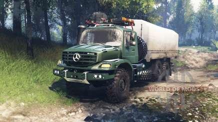 Mercedes-Benz Zetros 2733 A v3.0 для Spin Tires
