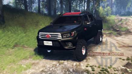 Toyota Hilux Double Cab 2016 v3.0 для Spin Tires