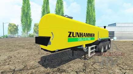 Zunhammer для Farming Simulator 2015