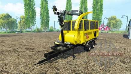 Щепорубительный прицеп v1.1 для Farming Simulator 2015