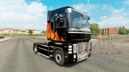 Скин Phoenix на тягач Renault Magnum для Euro Truck Simulator 2