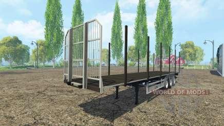 Многоцелевой полуприцеп Fliegl v2.0 для Farming Simulator 2015