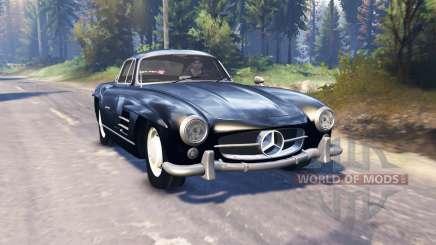 Mercedes-Benz 300 SL (W198) v2.0 для Spin Tires
