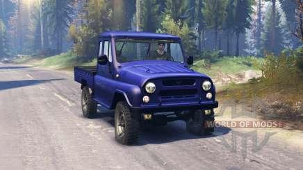УАЗ 2315 v2.0 для Spin Tires