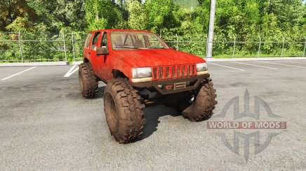 Jeep Grand Cherokee 1994 trail v1.1 для BeamNG Drive