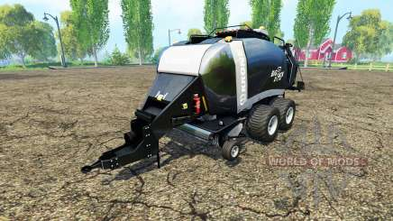 Krone BigPack 1290 black power для Farming Simulator 2015