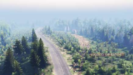 Mixed Forest 2 для Spin Tires
