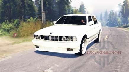 BMW 750Li (E38) v6.0 для Spin Tires