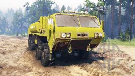Oshkosh HEMTT M977EX для Spin Tires
