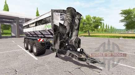 Krone TX 430 Kryptek для Farming Simulator 2017