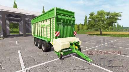 Krone ZX 550 GD v1.1 для Farming Simulator 2017