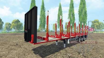 Полуприцеп сортиментовоз Kogel для Farming Simulator 2015