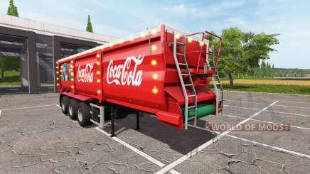 Krampe SB 30-60 Christmas Coca-Cola для Farming Simulator 2017