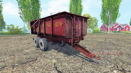 ПСТ-9 v2.0 для Farming Simulator 2015