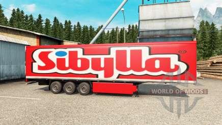 Скины на полуприцеп для Euro Truck Simulator 2