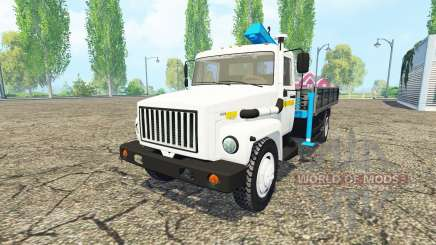 ГАЗ 3309 для Farming Simulator 2015