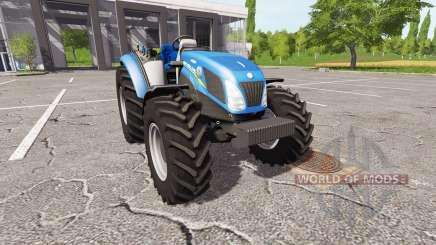 New Holland T4.75 v2.23 для Farming Simulator 2017