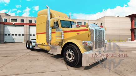 Скин Retro на тягач Peterbilt 389 для American Truck Simulator