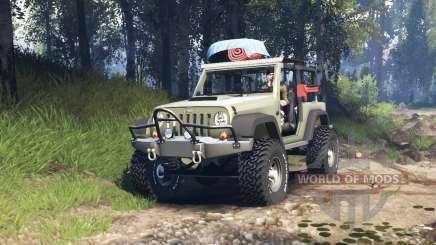 Jeep Wrangler Renegade (JK) v3.0 для Spin Tires