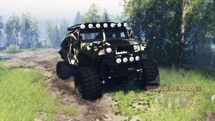 HMMWV M-1025 v4.0 для Spin Tires