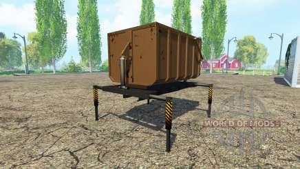 Самосвальный кузов v1.3 для Farming Simulator 2015