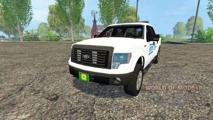 Ford F-150 NYPD для Farming Simulator 2015